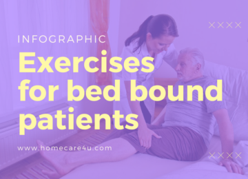 Exercises for Bedbound Patients (Infographic)