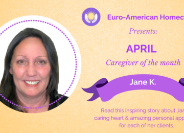 Meet Jane Kinney, our April Caregiver of the month!