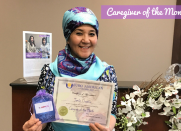 Caregiver of The Month – Jemile Ovezova