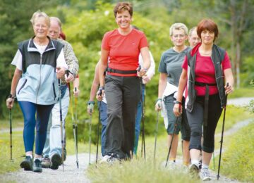 The Surprising Benefits of Nordic Walking Poles